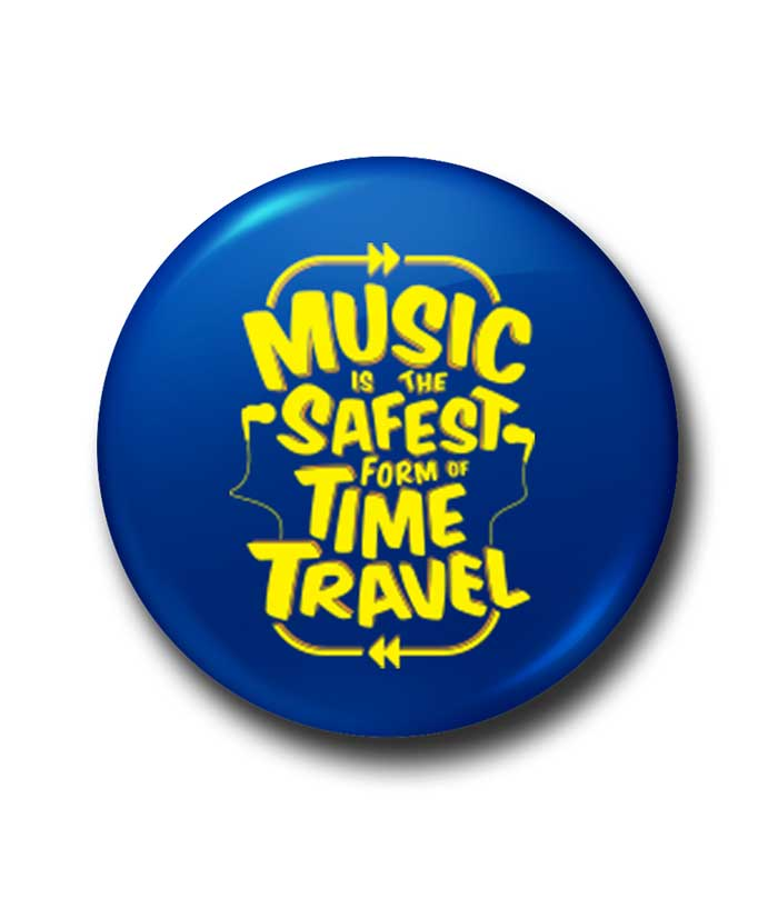 Safe Time Travel Badge - fully-filmy