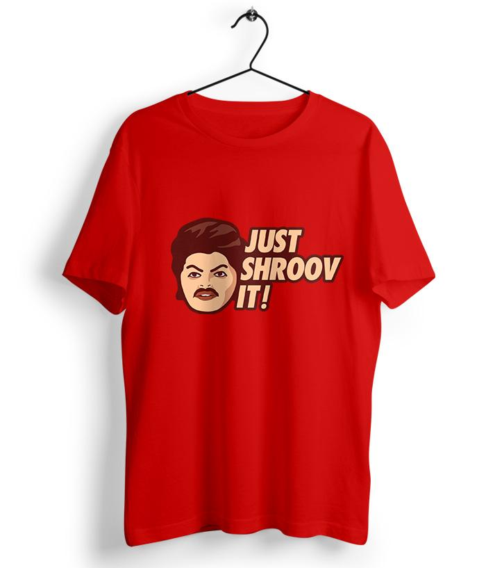 Just Shroov It - Awesome Machi Official T-Shirt - fully-filmy
