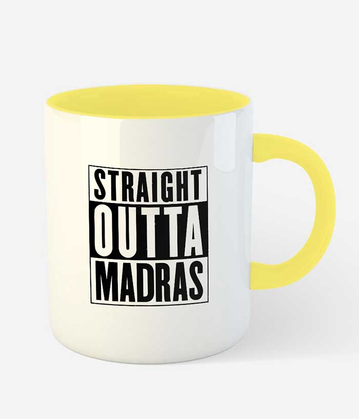 Straight Outta Madras Mug - fully-filmy