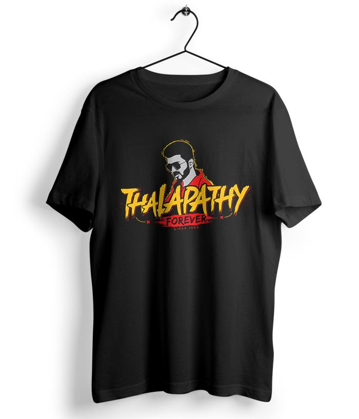 Thalapathy Forever T-Shirt - Limited Edition - fully-filmy