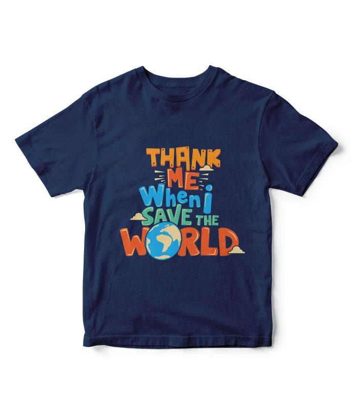 Save The World Kids T-Shirt - fully-filmy