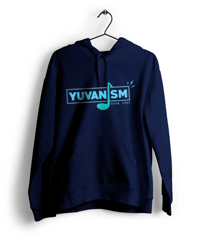 Yuvanism Musical Note Hoodie - fully-filmy