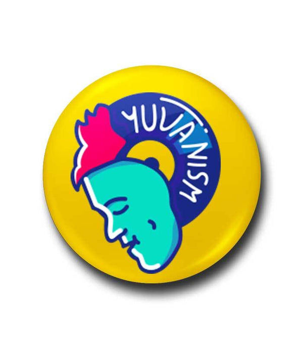 Yuvanism Pop Badge