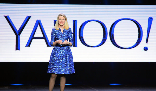 Yahoo President and CEO Marissa Mayer delivers a keynote address at the 2014 International CES at The Las Vegas Hotel & Casino on January 7, 2014 in Las Vegas. (Ethan Miller/Getty Images)