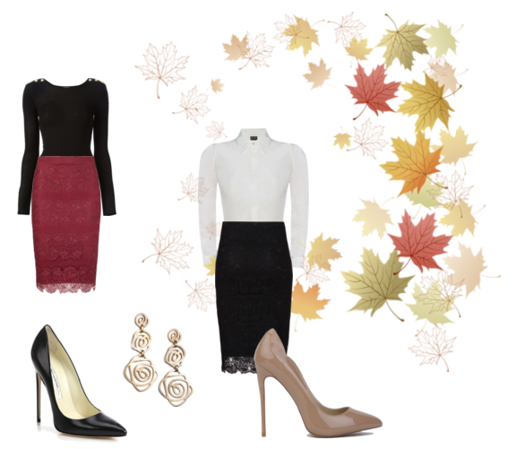 Silkarmour Autumn Edit Pencil Skirt