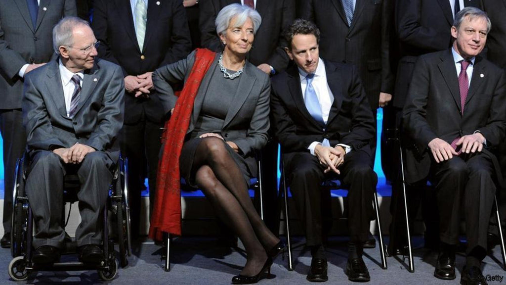 Christine Lagarde finance minister power dressing