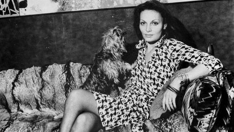 Diane von Furstenberg power dressing secrets