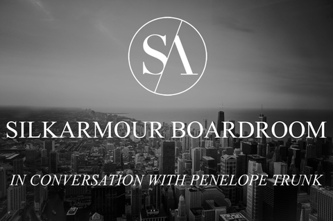 Penelope Trunk in Conversation with Silkarmour Boardroom