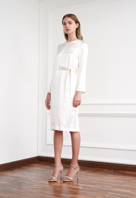 Viktoria Chan- Stella Minimal Silk Dress- Silkarmour-4