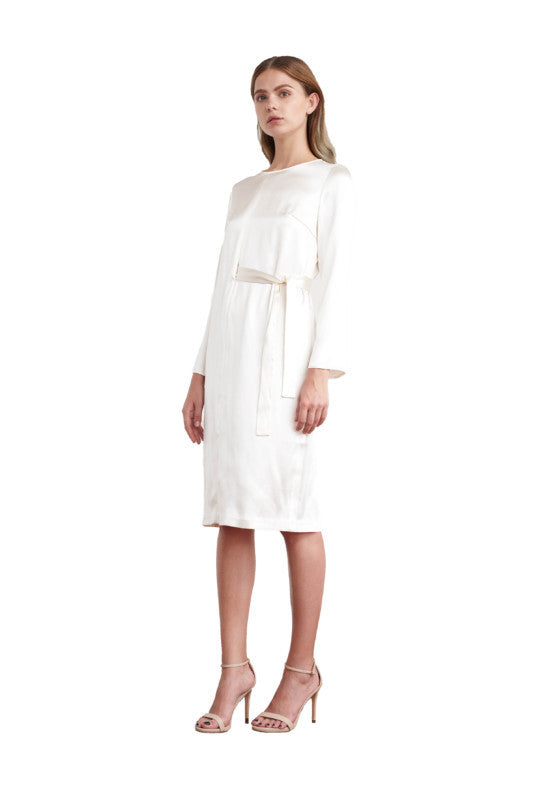 Viktoria Chan- Stella Minimal Silk Dress- Silkarmour-2