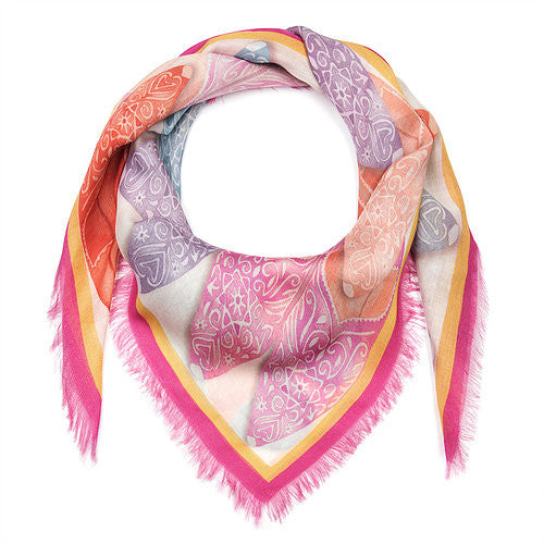 DolceRoopa_Silk Printed Scarf-Babouche-Silkarmour-2