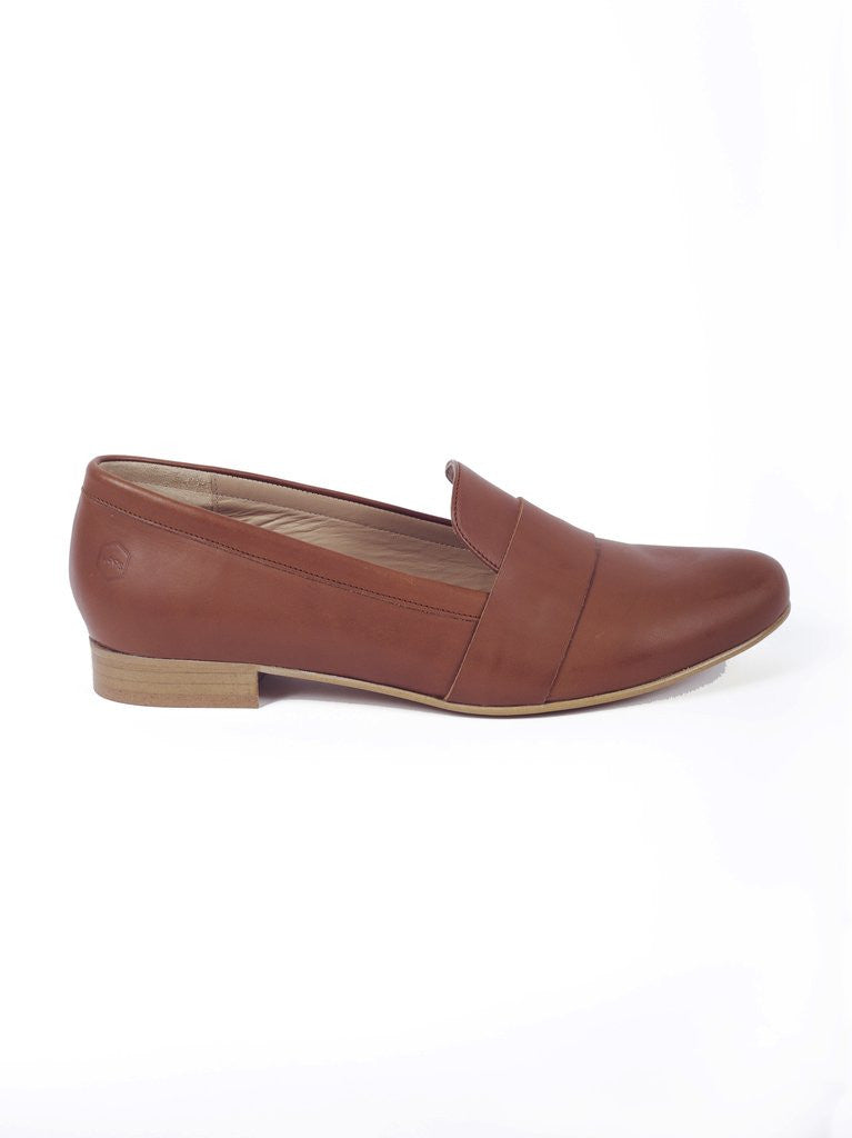 House of Spring-Portobello Camel Loafers- Silkarmour-3
