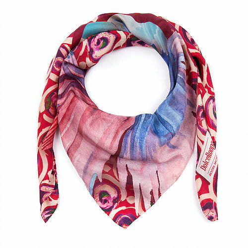 DolceRoopa-Luxury Silk Scarves- Capri 1-Silkarmour-3