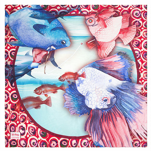 DolceRoopa-Luxury Silk Scarves- Capri 1-Silkarmour-1