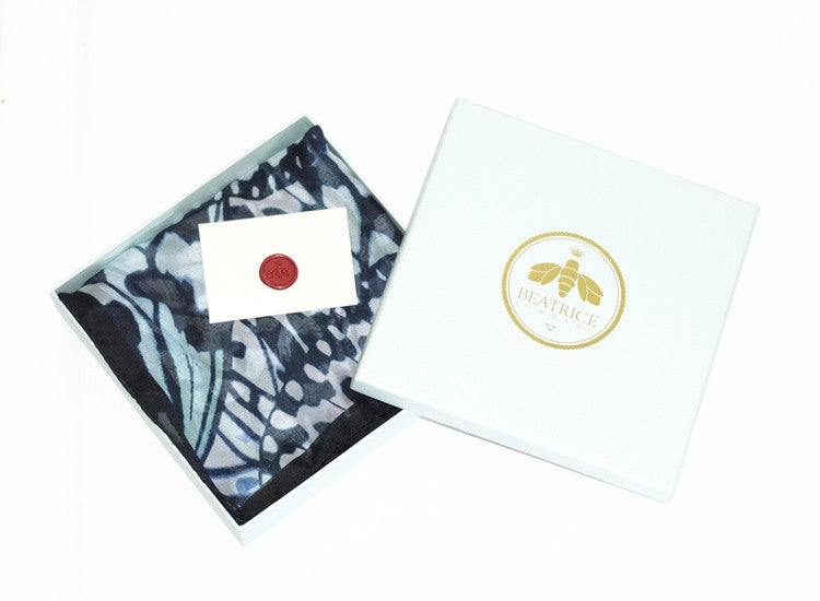 Beatrice Jenkins - luxury silk workwear accessories and scarves - Tree Nymph - SILKARMOUR - 2