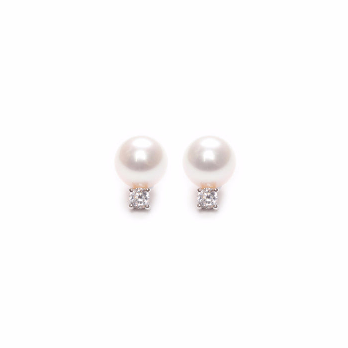 ORA PEARLS - DESIGNER WOMENS JEWELLERY in SILVER AND GOLD - EARRING ACCESSORY - SILKARMOUR - 1