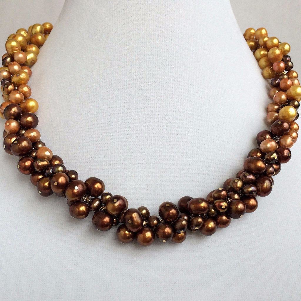 HELOU DESIGNS - LUXURY BUSINESS JEWELLERY - PEARLS NECKLACE - SILKARMOUR - 5