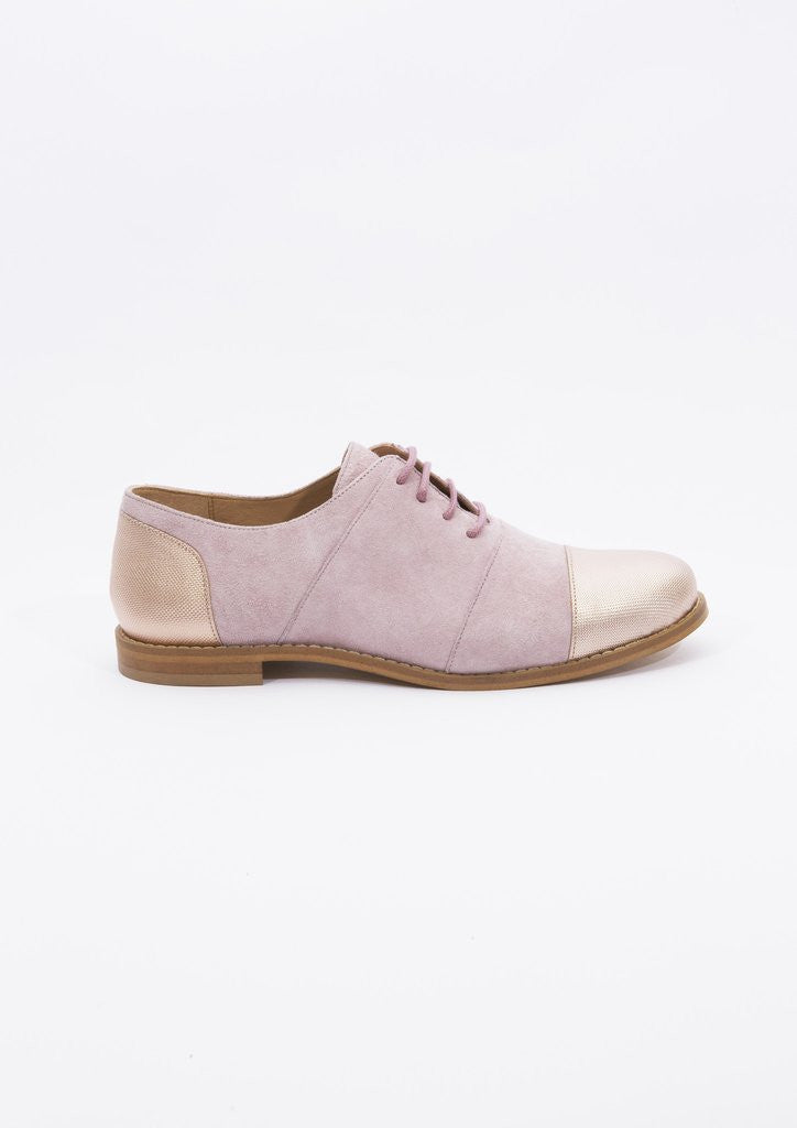House of Spring - Gigi Nude Brogues- Silkarmour-4