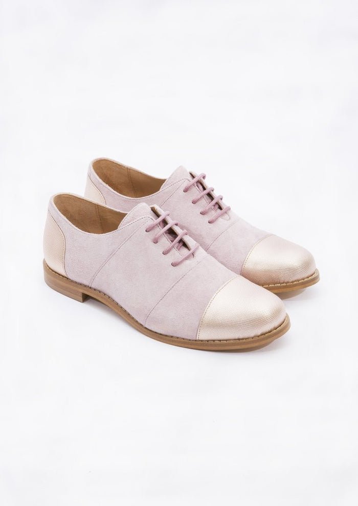House of Spring - Gigi Nude Brogues- Silkarmour-1