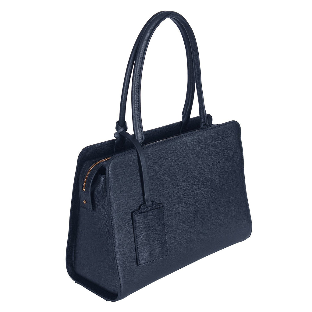 Esin Akan-CITY TOTE Navy-Silkarmour-4