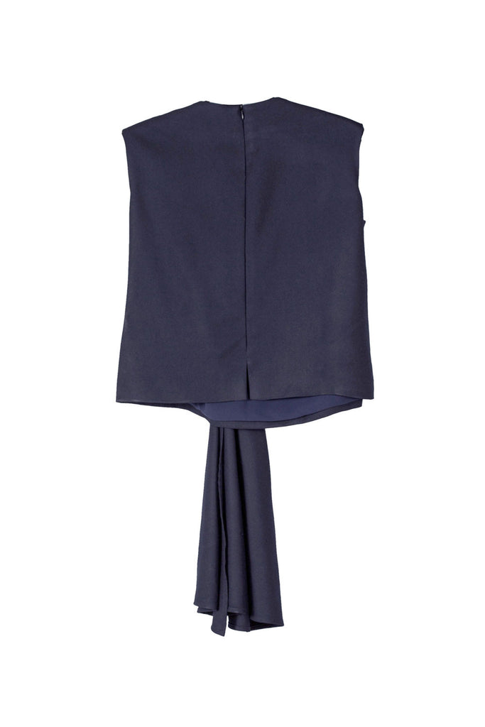 Viktoria Chan- Draped Top- Silkarmour-5