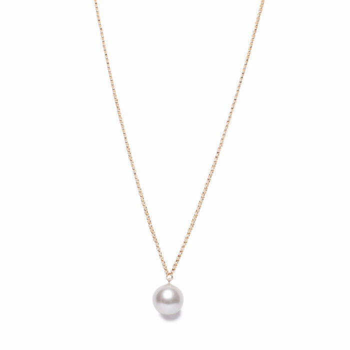 ORA PEARLS LONDON - GREY PEARL PENDANT - SILKARMOUR - 1