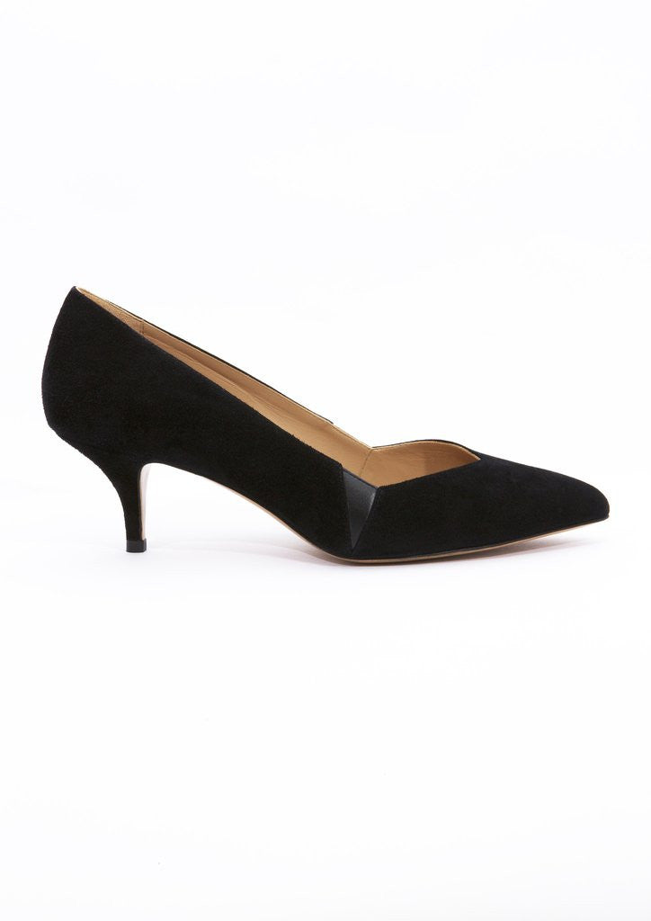 House of Spring- Petite Honoré Pumps- Silkarmour-1