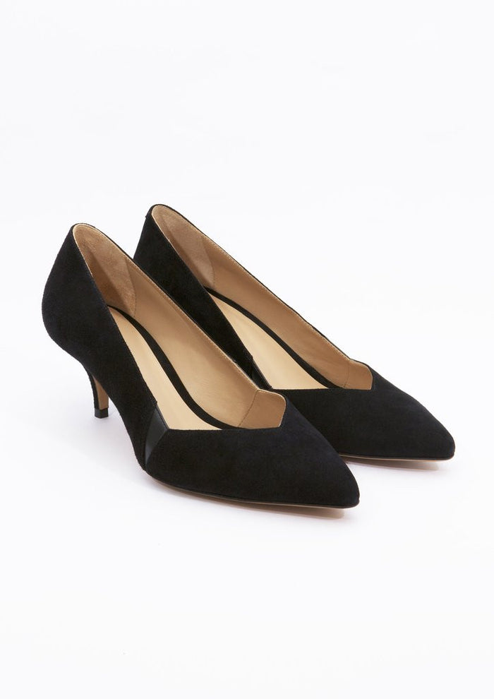 House of Spring- Petite Honoré Pumps- Silkarmour-2