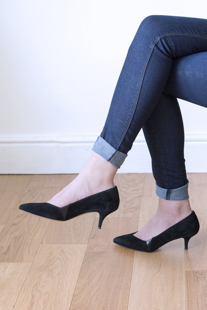 House of Spring- Petite Honoré Pumps- Silkarmour-3