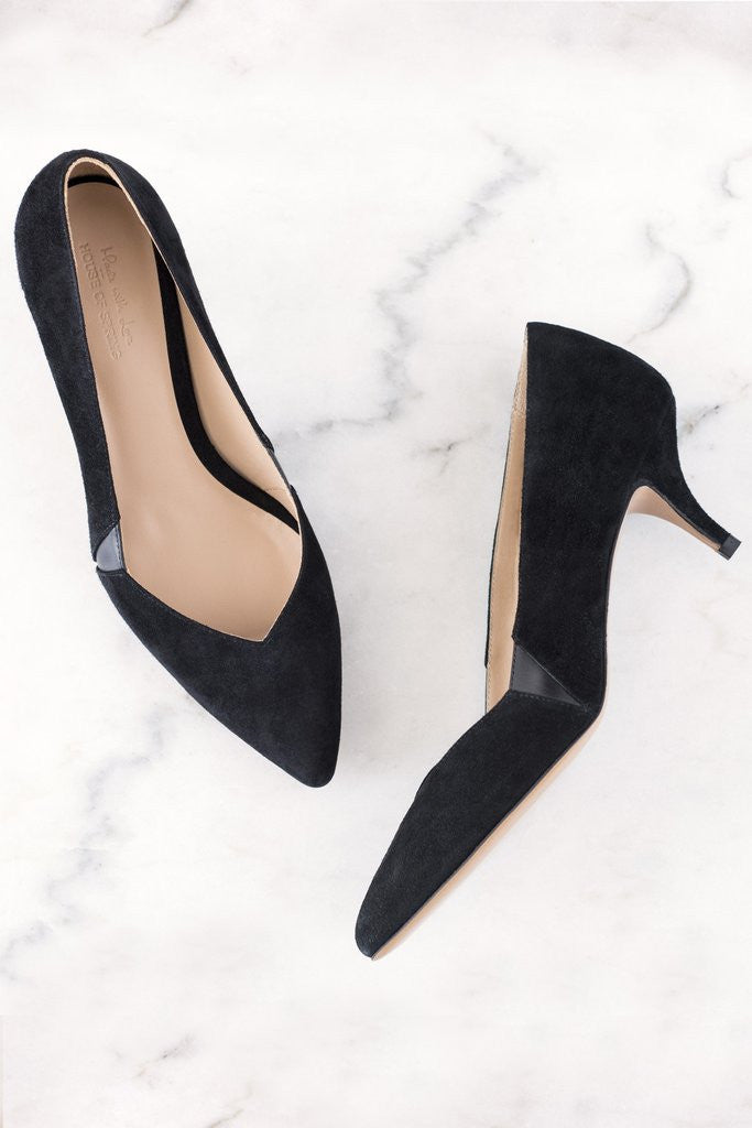 House of Spring- Petite Honoré Pumps- Silkarmour-4
