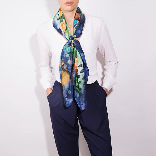 DOLCEROOPA-LUXURY SILK SCARF-SORRENTO-SILKARMOUR-2
