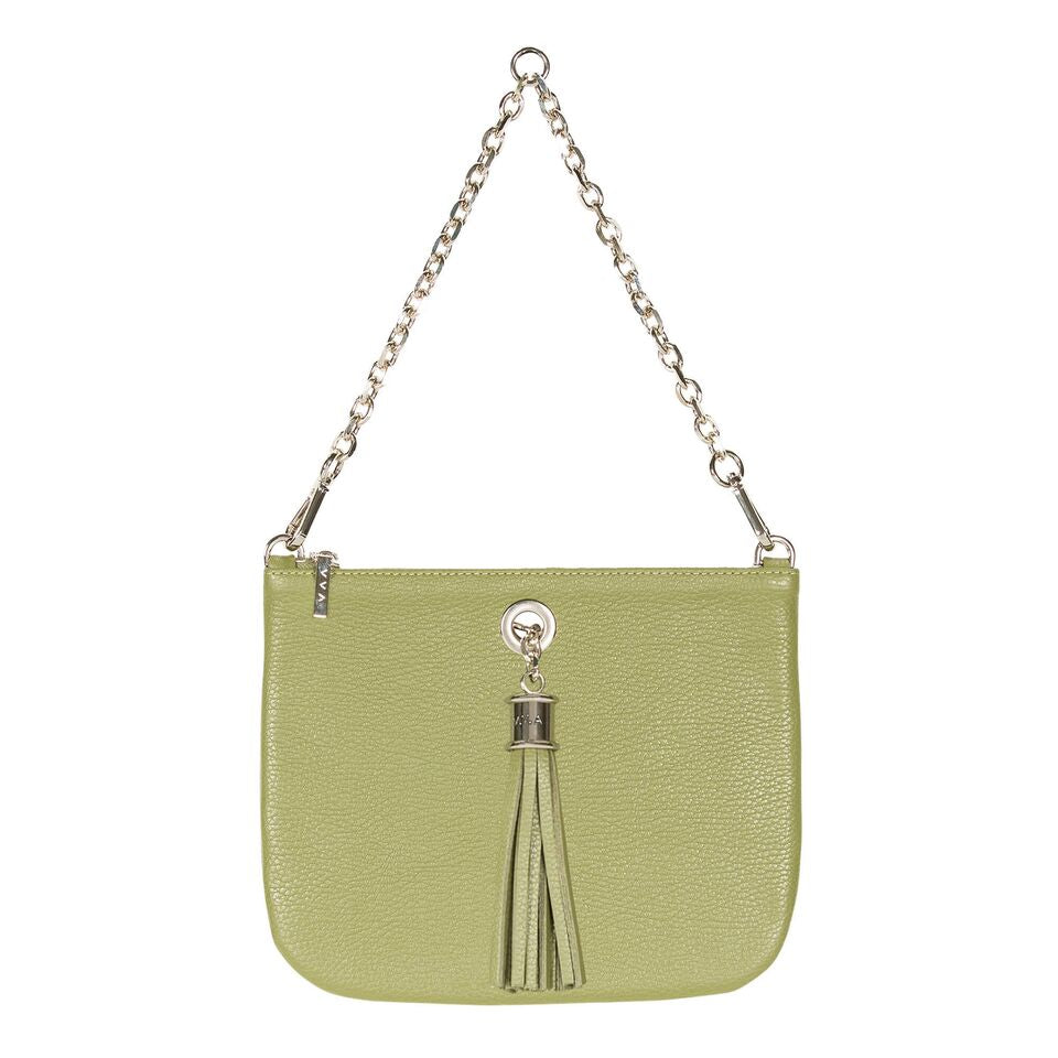 VVA-Dahlia Khaki Leather Tote Handbag-SILKARMOUR-2