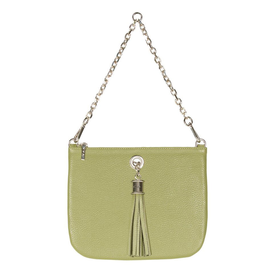 VVA-Dahlia Khaki Leather Tote Handbag-SILKARMOUR-1