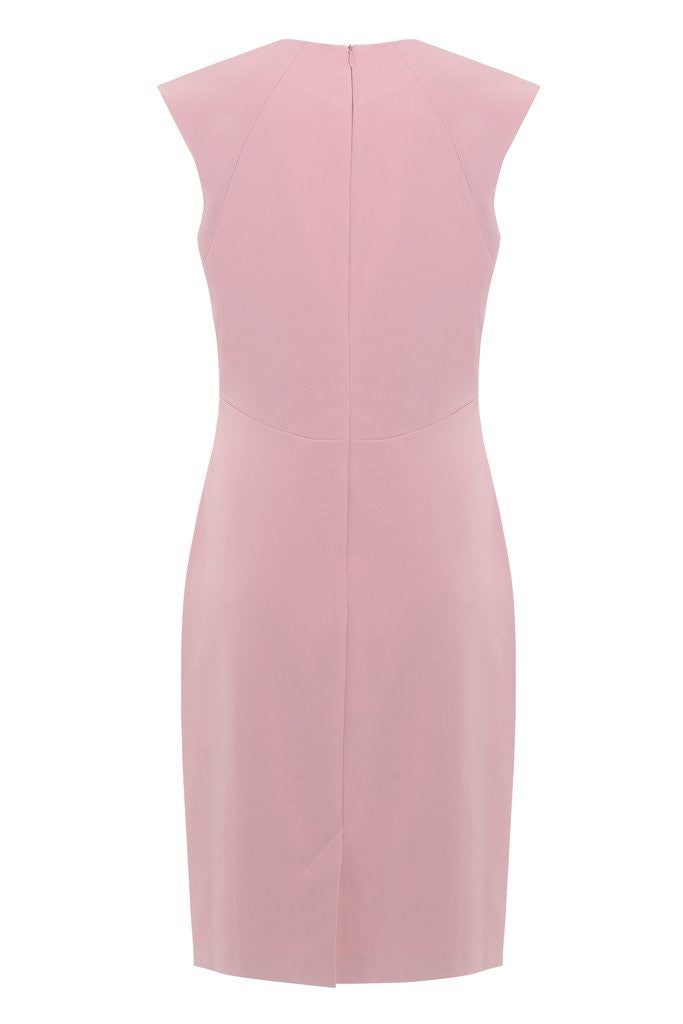 Hemyca London-Beth Stretch Cady Dress-Silkarmour-3