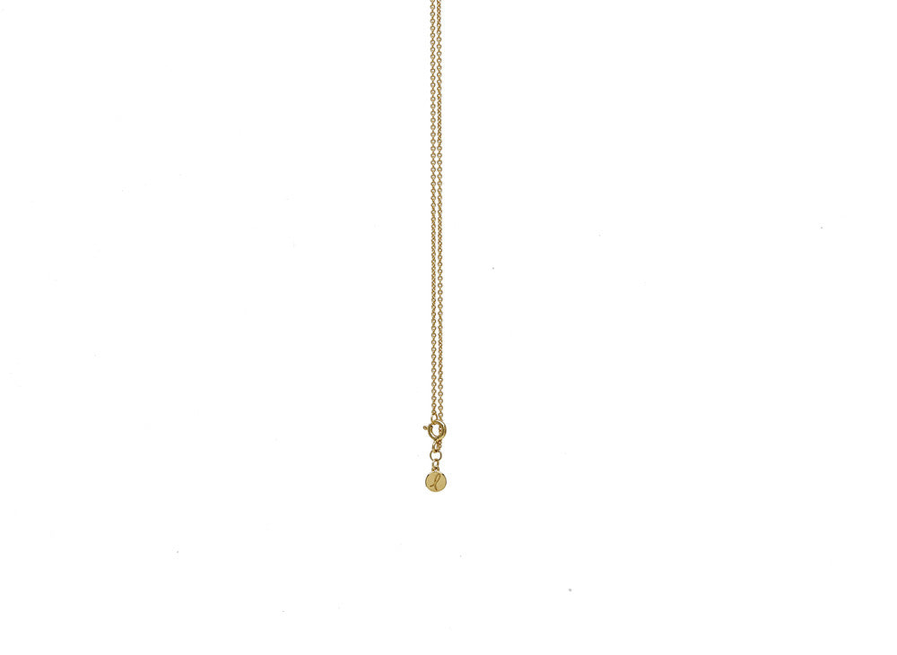 My-Wishbone Spinner Pendant in Gold- Silkarmour-3
