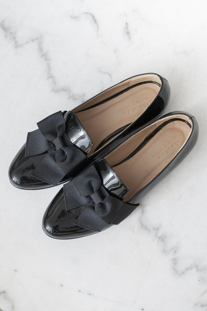 House of Spring-Portobello Bow Loafers- Silkarmour-1