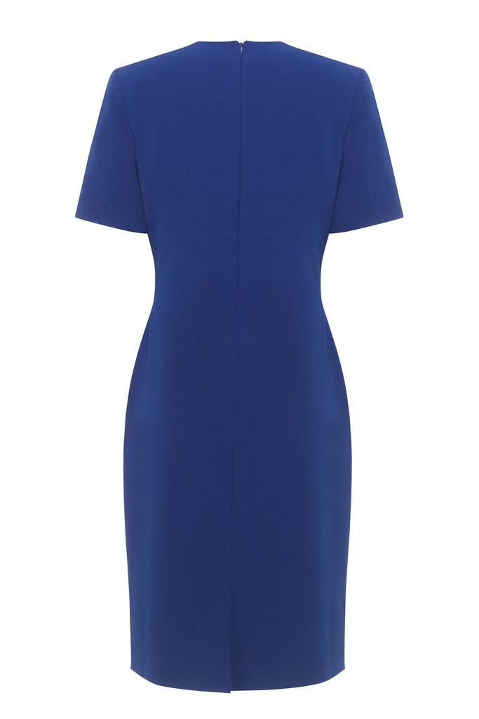 HEMYCA LONDON-Nora Stretch Cady Dress-SILKARMOUR-3