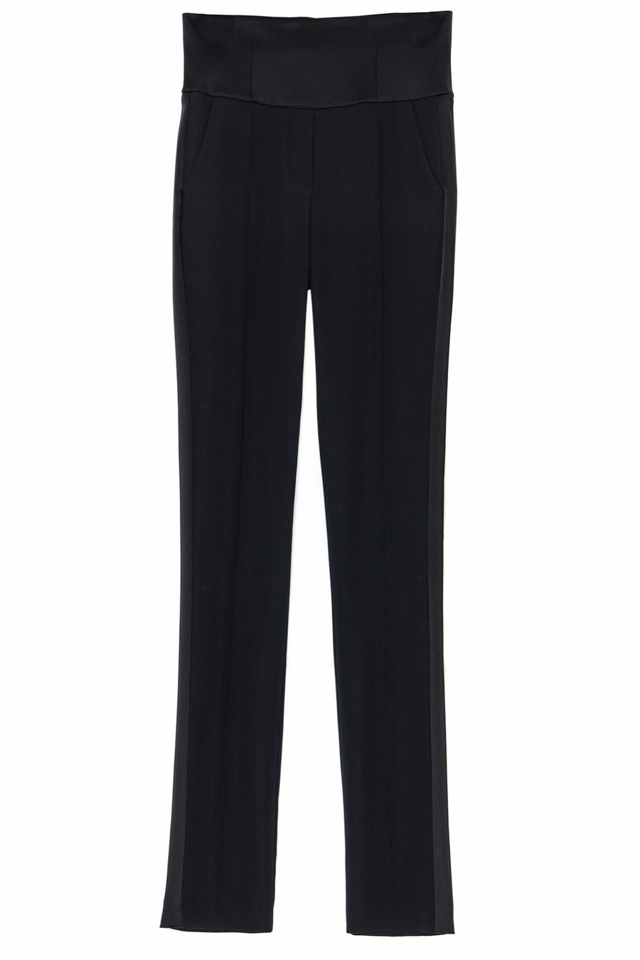 STEFANIE-RENOMA-HIGH-WAISTED-BLACK-TUXEDO-TROUSERS-SILKARMOUR