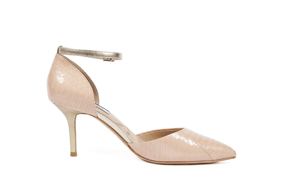 Lucy-Choi-Primrose-Hill-Pink-Snake-Heels-Silkarmour