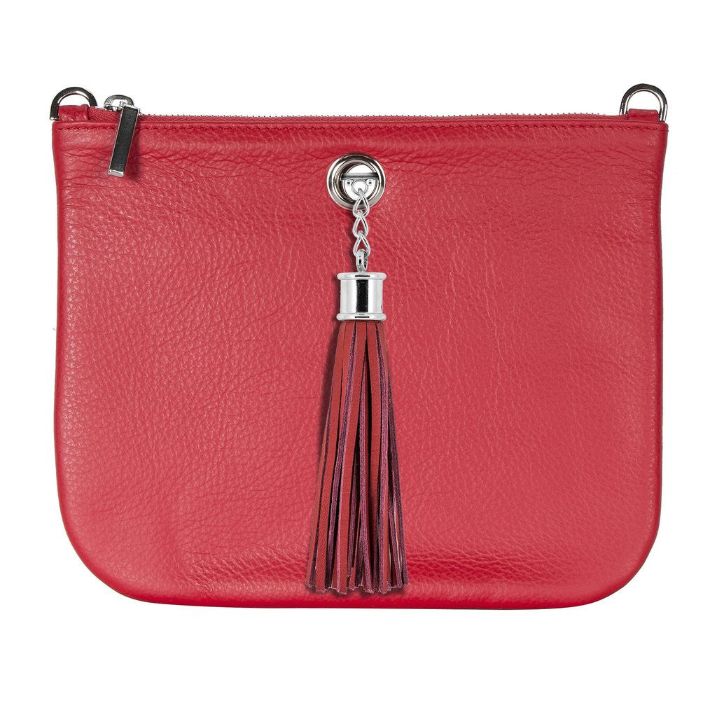 VVA-DAHLIA RED LEATHER TOTE HANDBAG-SILKARMOUR-5