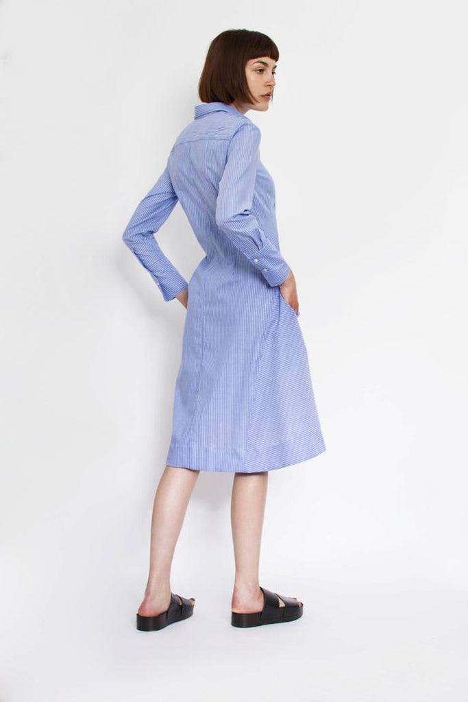 Jetti London-Uma Dress-Blue-Silkarmour-3