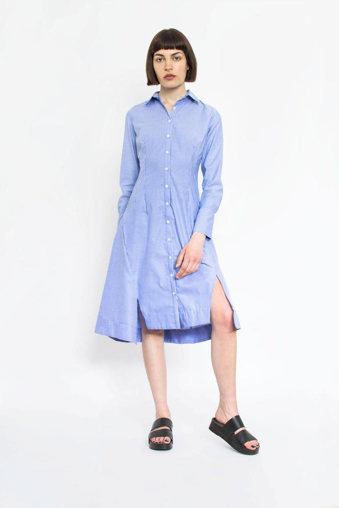 Jetti London-Uma Dress-Blue-Silkarmour-2
