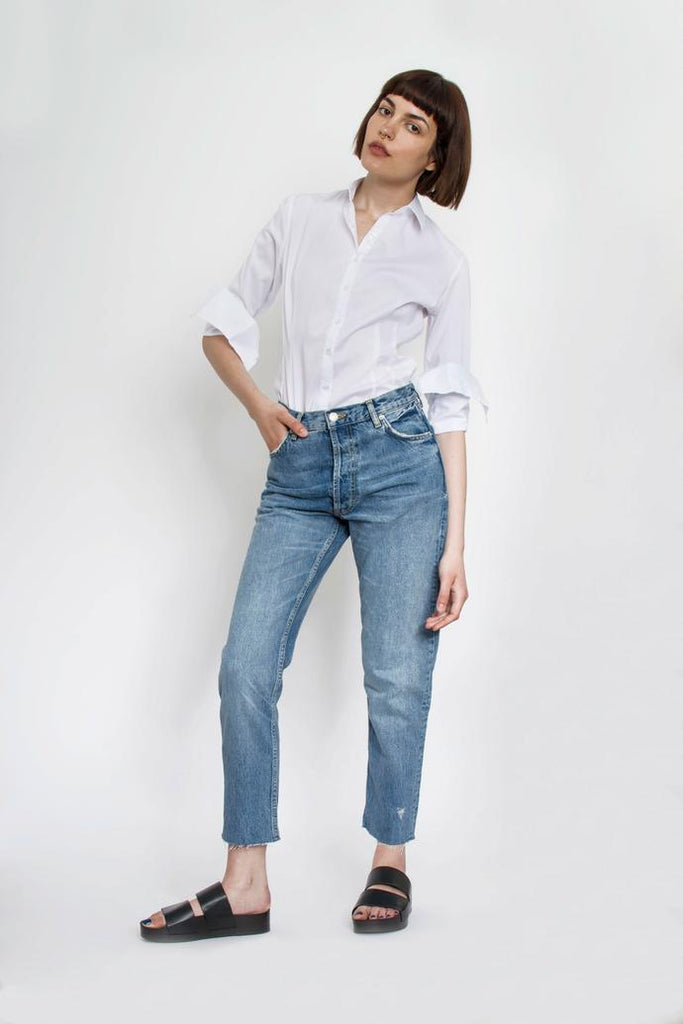 Jetti London-Uma Shirt-White-Silkarmour-4