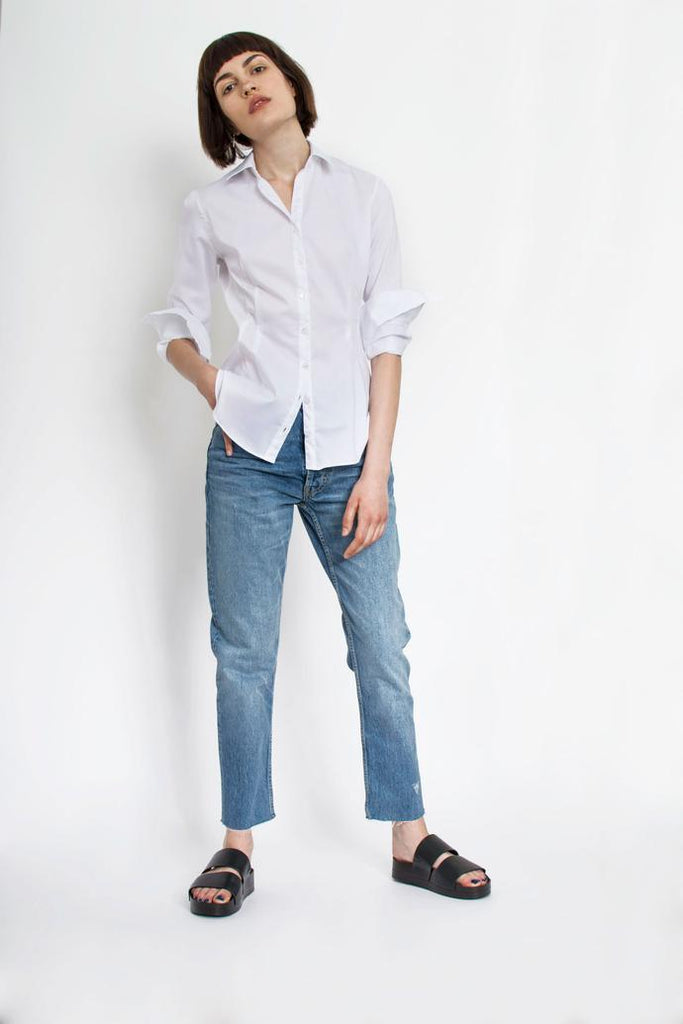Jetti London-Uma Shirt-White-Silkarmour-2