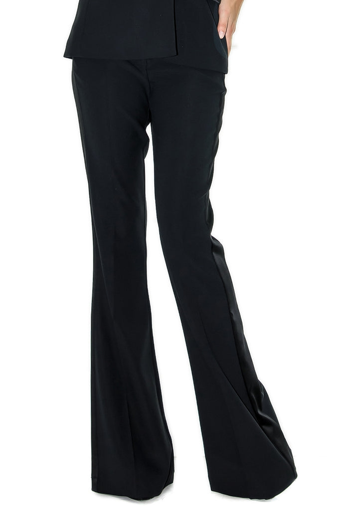 Stefanie Renoma-BLACK SMOKING PANT, LISA SPARKLE BLACK-Silkarmour-5