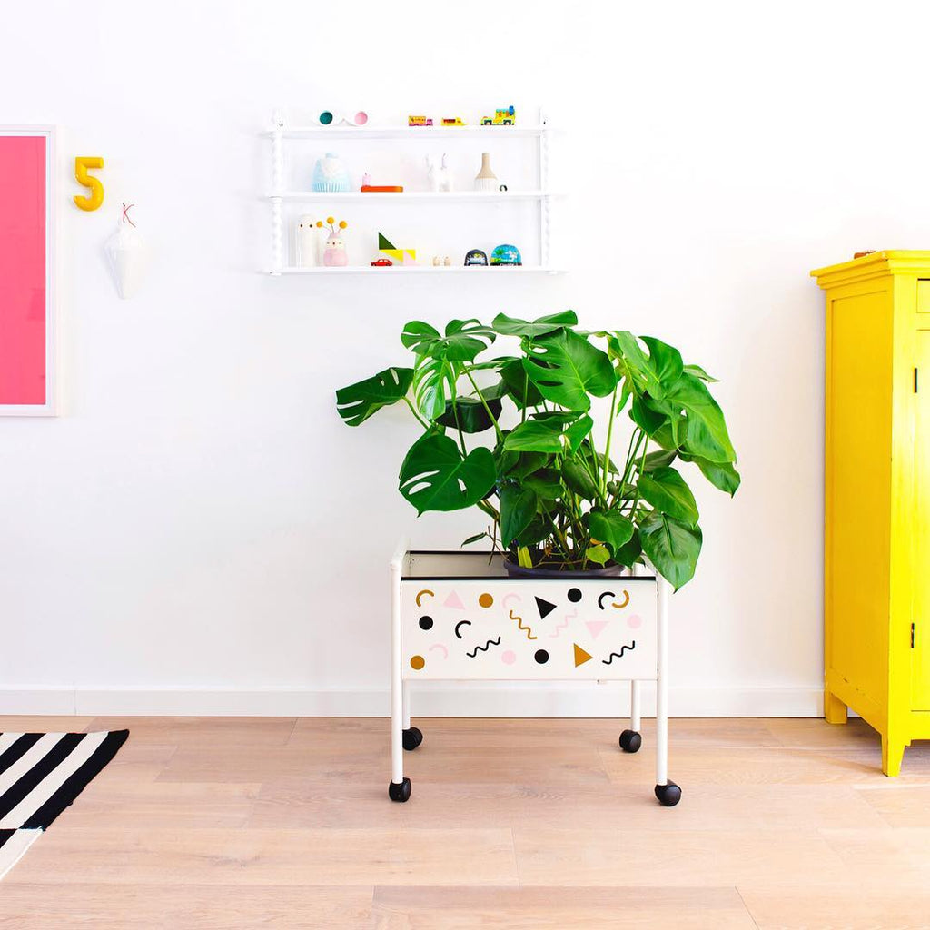 Furniture diy with wall decals
