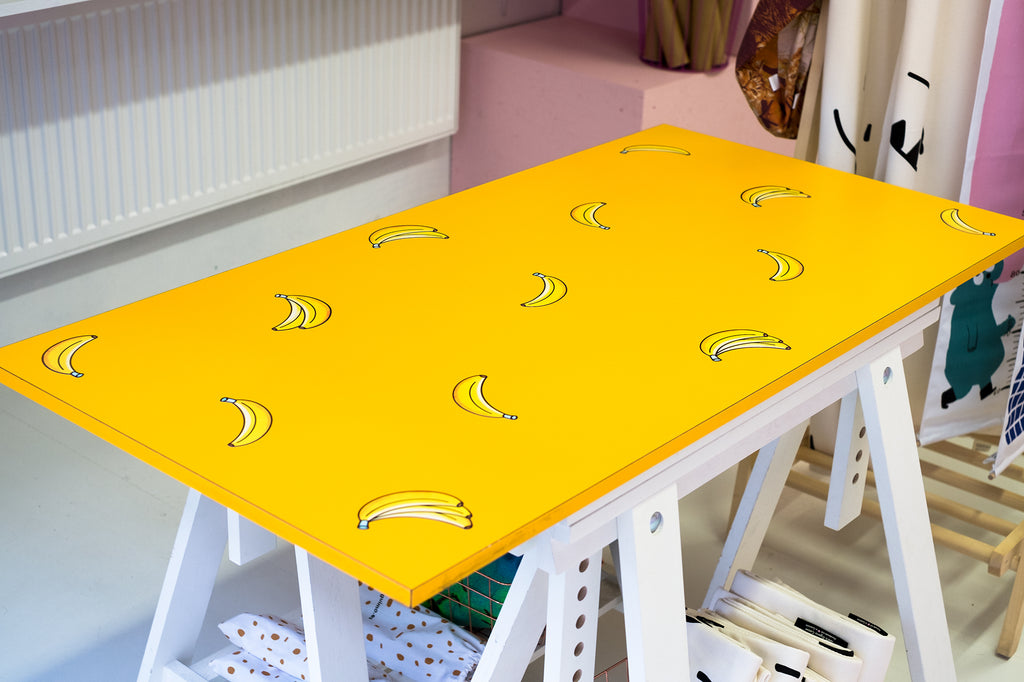 Banana wall stickers furniture diy