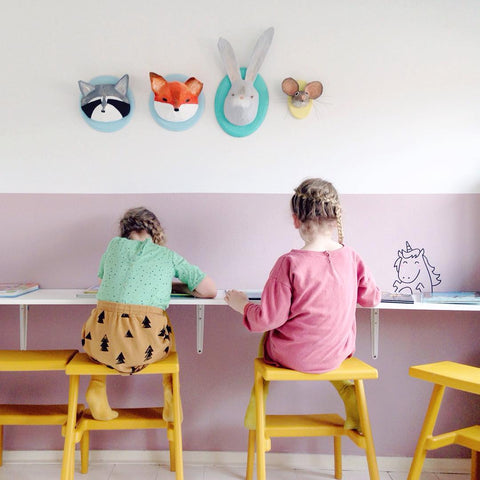 Unicorn Cute Stickers | Wall decoration ideas