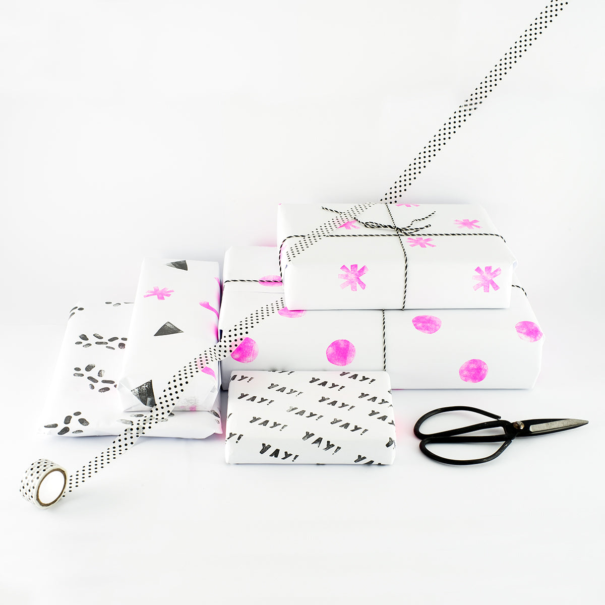 DIY Modern Gift Wrapping | Made of Sundays