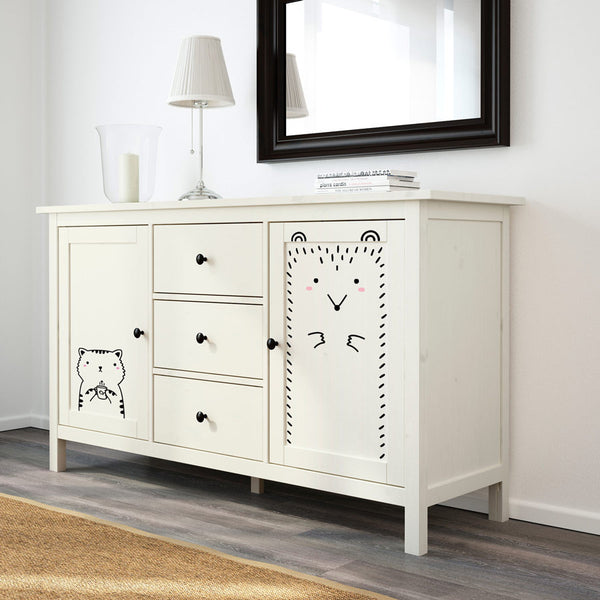 Ikea hemnes cupboard hack